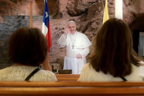 Chile government guarantees Pope's safety despite church attacks