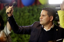 Evangelical still ahead as lead shrinks in Costa Rica election: poll