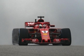 Vettel fastest in final U.S. Grand Prix practice