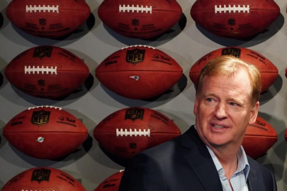 Goodell signs extension to remain NFL Commissioner