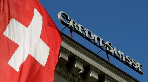 Credit Suisse posts third straight annual loss on U.S. tax writedown