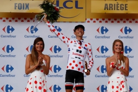 Froome survives danger as Sky execute perfect plan, Barguil wins