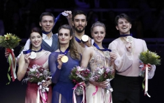 Figure skating: Record-breaking Papadakis, Cizeron take fourth European gold
