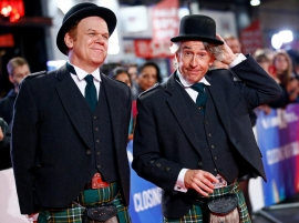 London film fest closes with flash of 'Stan & Ollie' comic genius