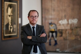 "Paris auction house ""would love it"" if Banksy pulls another stunt"