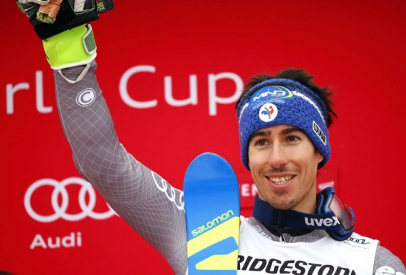 Alpine skiing: Muffat-Jeandet wins first World Cup race