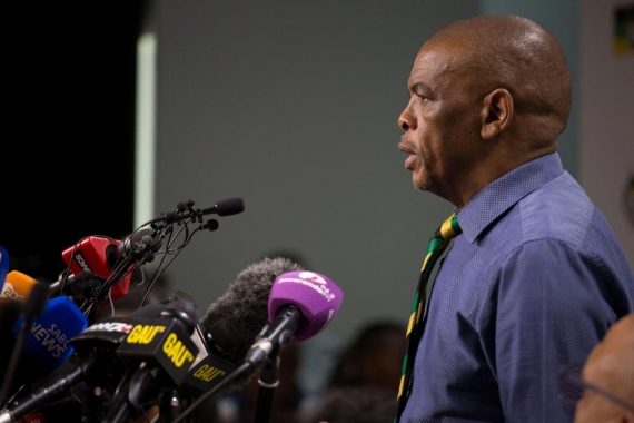 ANC orders Zuma to step down as South African president