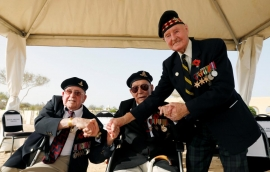 Return to Egypt revives memories of desert battle for British veterans