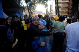 Big Mexico quake cuts power and damages homes; two dead in crash