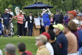 Golf: Korea's Lee 'Jeong-eun6' ties China's Feng at six-under