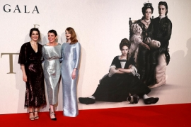 Olivia Colman adds royal touch with 'The Favourite' at London Film Festival
