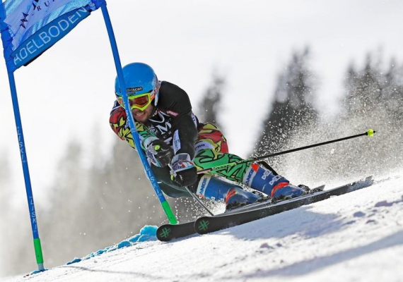 Bolivia's Alpine skier overcomes mountains of a different kind
