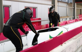 Bobsleigh: Upbeat Jamaicans can't wait for their moment in the sun