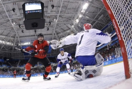 Ice hockey: Canadian men beat South Korea 4-0 and get bye to quarters