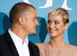 Katy Perry and Orlando Bloom hint at engagement with ring picture