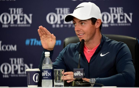 McIlroy confident and keen as British Open approaches