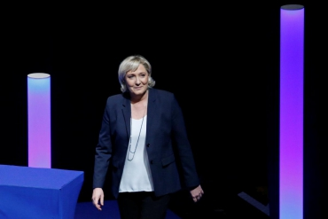 "Le Pen wants France's National Front to be renamed ""National Rally"""