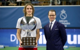 Tennis: Tsitsipas claims maiden ATP title in Stockholm