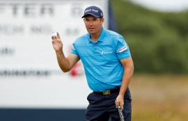 Golf: Rejuvenated Harrington shares lead at Scottish Open